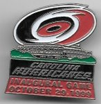 Hurricanes Inaugural Game Pin.jpg